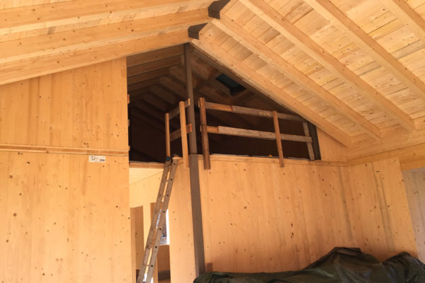 struttura in legno Casaclima